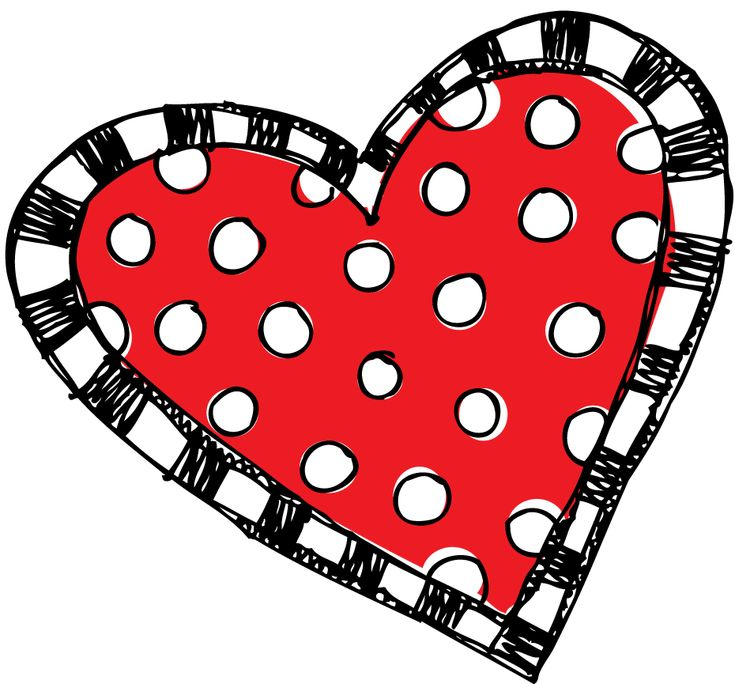 Red Polka Dot And Striped