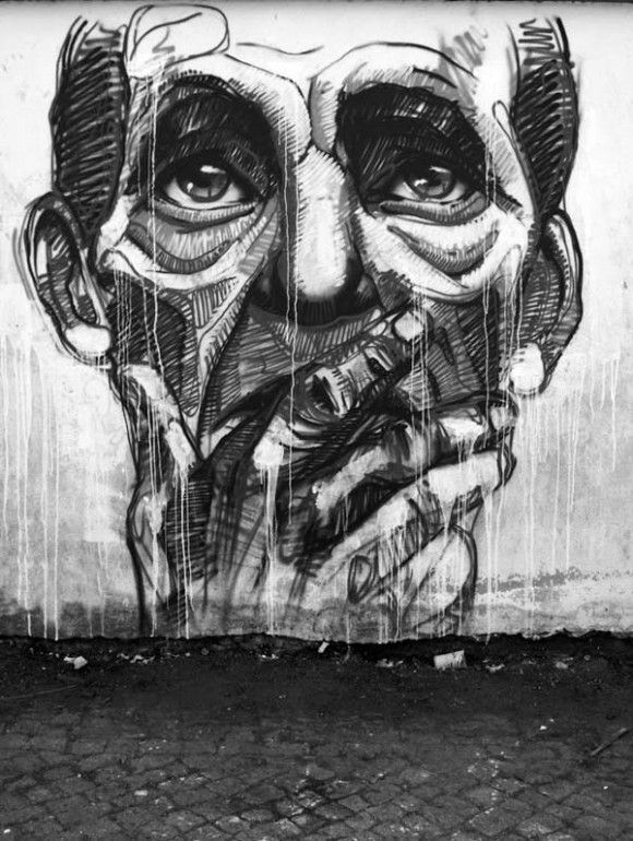 Street Artists around the World - Drawe #streetart #graffitiart #urbanart…