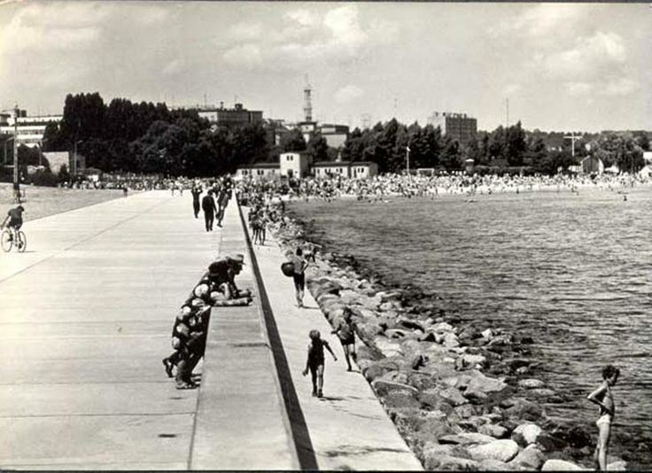 #Gdynia #1960 bulwar #Polska #Baltic