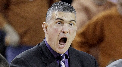 Frank Martin, K-State men's Basketball coach. Love his energy and emotion!