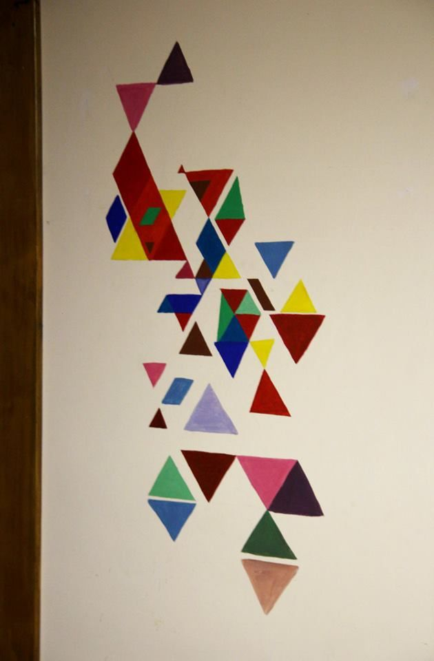 Office abstract wall painting  #office #wallpainting #abstract