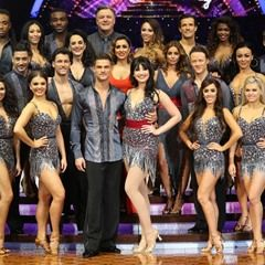 Group photo for the launch of Strictly Come Dancing Tour 2017