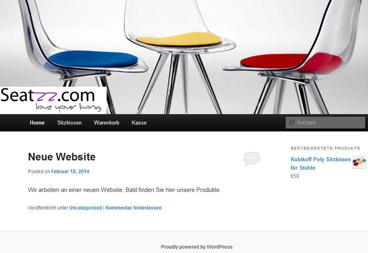 Wordpress webshop voor Seatzz. | www.seatzz.com