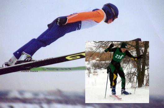 Desporto de inverno. Combinado Nórdico. Calgary, Canadá.           – Wikipédia, a enciclopédia livre