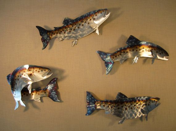 Rainbow Brown Lake Spotted Speckled Trout by steelknightdesigns