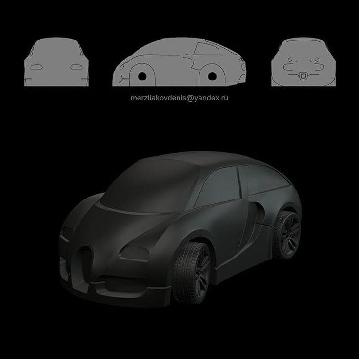 3 отметок «Нравится», 1 комментариев — мерзляков (@denismerzliakov) в Instagram: «3 серия машинок #игрушка для Disney Gym #toy #art #3d #model #design #concept #work #cnc #3dprint…»