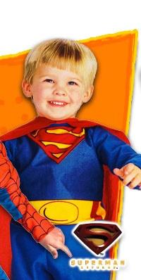 infant toddler superman costume