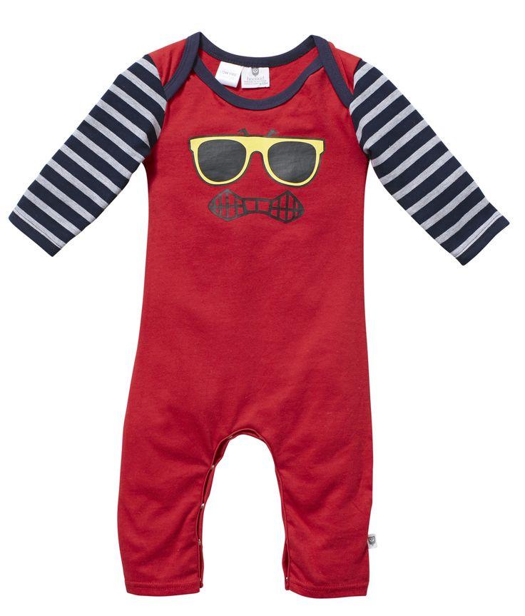 Wear Kids Play - Hootkid | Tough Talking Romper, $39.95 (http://www.wearkidsplay.com.au/products/hootkid-tough-talking-romper.html/)