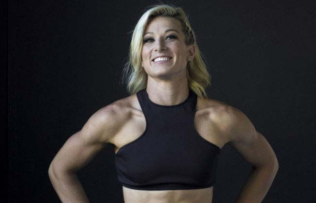 Stuntwoman Jessie Graff...