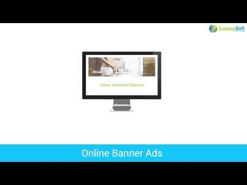 We develop different kinds of online banners like static banners, animated web banners, flash banners and more for your business development.