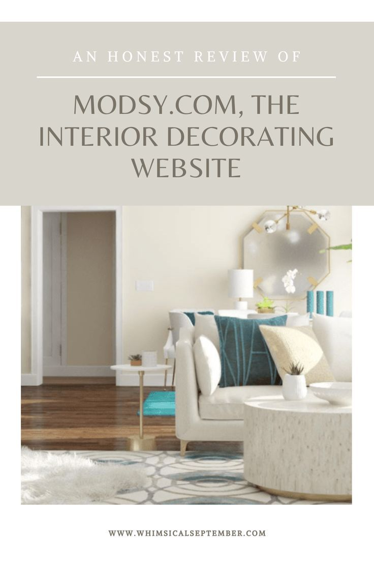 Modsy Review The Online Interior Design Service We Tried Out Online Interior Design Services Interior Design Services Interior