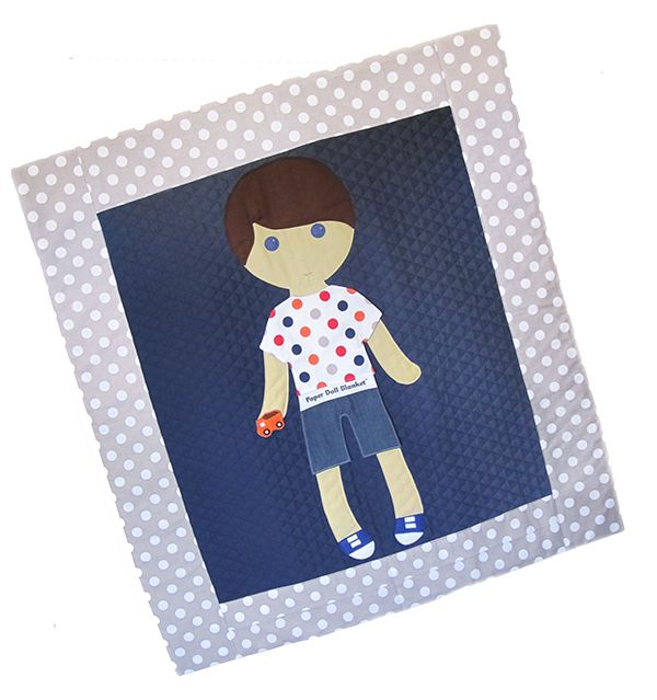 Pay for a paper doll blanket