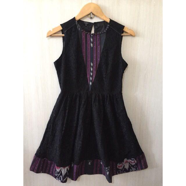 Temukan dan dapatkan Dress lace mix Tenun Ikat Antik  hanya Rp 128.000 di Shopee sekarang juga! http://shopee.co.id/imanggoethnic/73479510 #ShopeeID