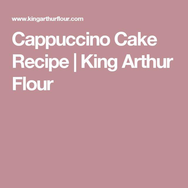 Cappuccino Cake Recipe | King Arthur Flour