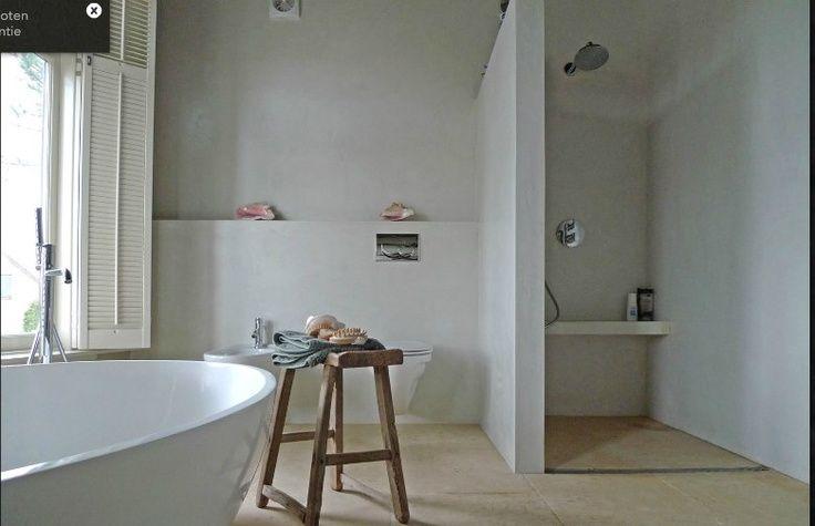 beton cire badkamer ervaring - Google zoeken