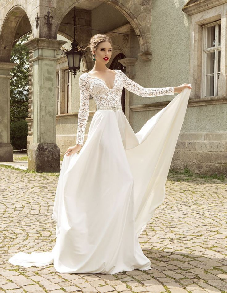 Awesome Affordable Wedding Dresses With Sleeves 2016   Http://misskansasus.com/ Affordable
