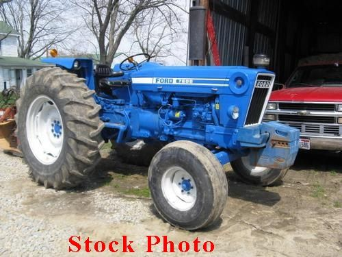 183 Best Images About Blue Ford Tractors On Pinterest