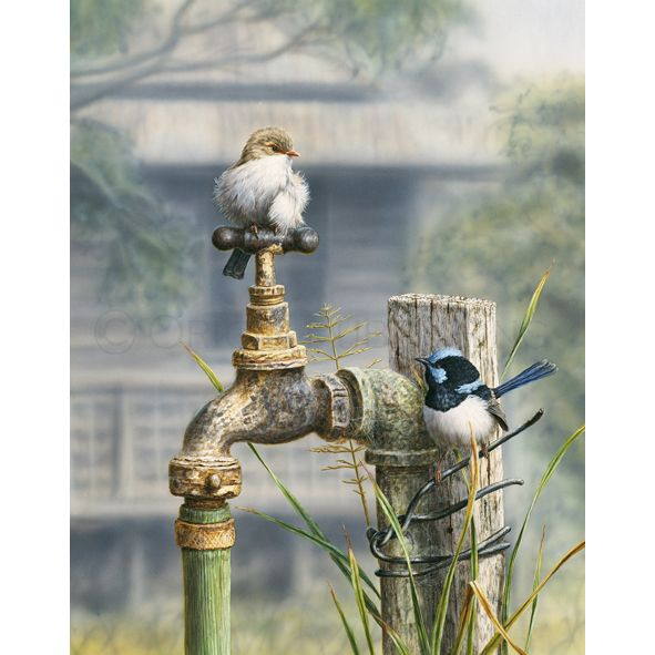 Water Restrictions | Limited Edition Fine Art by Greg Postle #theorigincollection #artist #gregpostle
