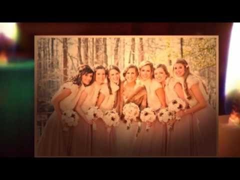 Платья подружек - украшение невесты!