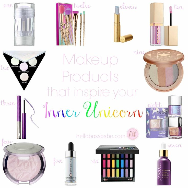 Makeup for your Inner Unicorn ·