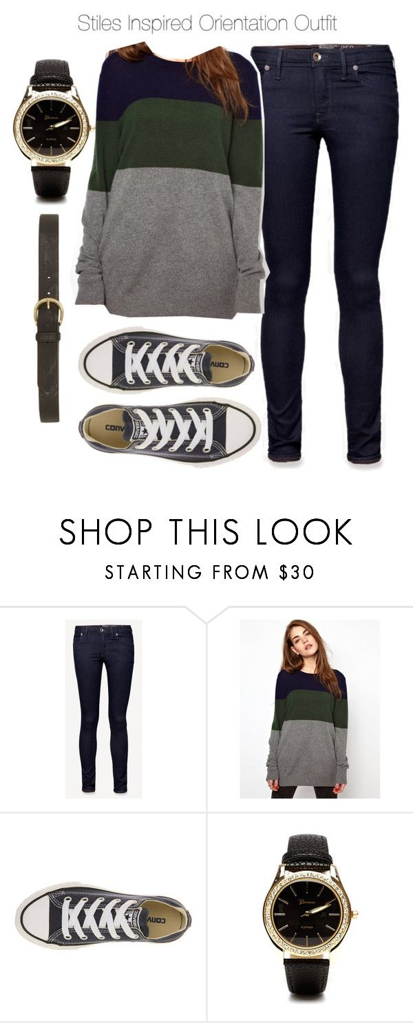 """Stiles Inspired Orientation Outfit"" by veterization ❤ liked on Polyvore featuring Jack Wills, Equipment, Converse, 2b bebe and Dorothy Perkins"