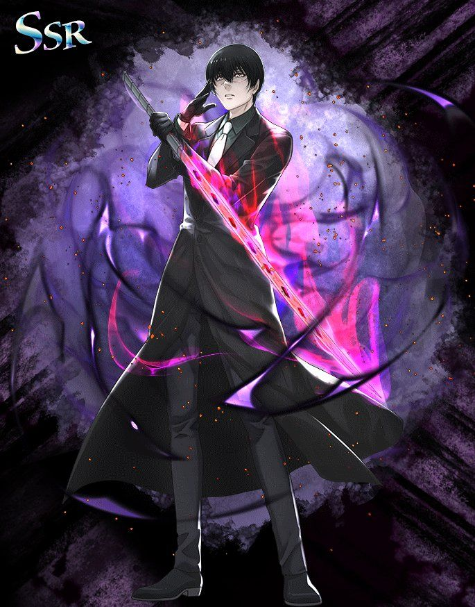 Tokyo Ghoul re Invoke. New Black Reaper SSR Personagens