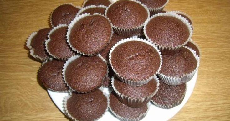 Εξαιρετική συνταγή για Cupcakes Σοκολάτας. Αφράτα και πολύ νόστιμα!!!!!