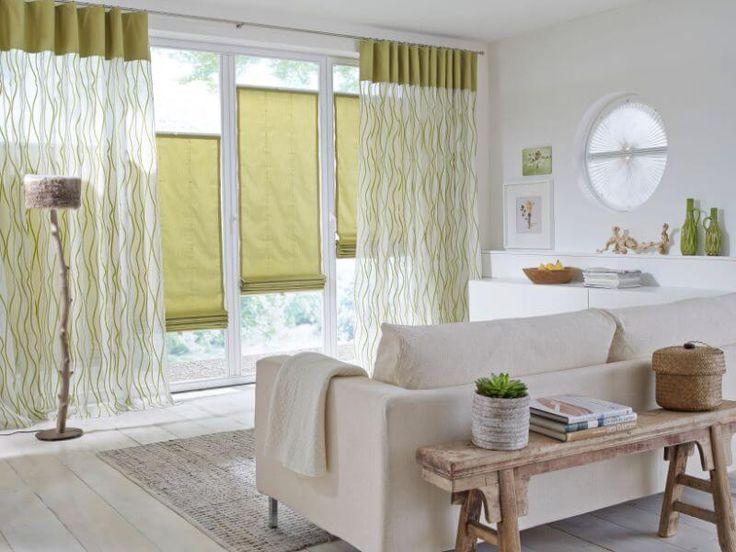 Más de 25 ideas increíbles sobre Plissee gardinen en Pinterest - gardinen muster für wohnzimmer