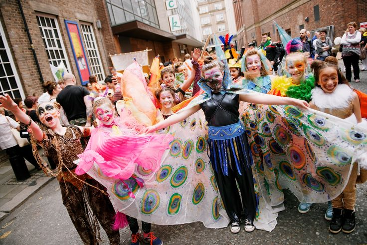 June 11th 2016! Commences 1pm outside Central Library, Northumberland Street, Newcastle.  The parade will travel up Northumberland Street and there will then be static finale performances at old Eldon Square (approximately 2:15pm).
