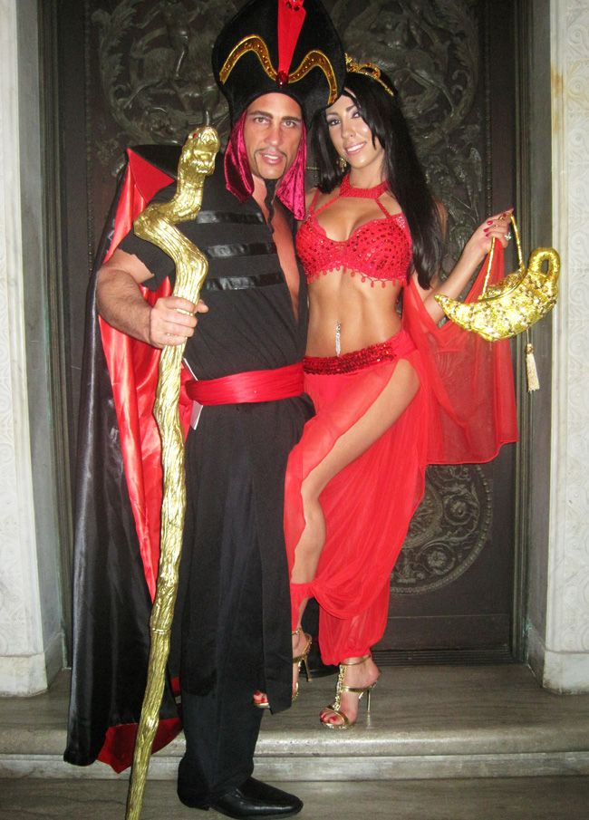 princess jasmine slave...looove this! such a good job! @Christopher Chicco lets do this for next year!!!!!!!!