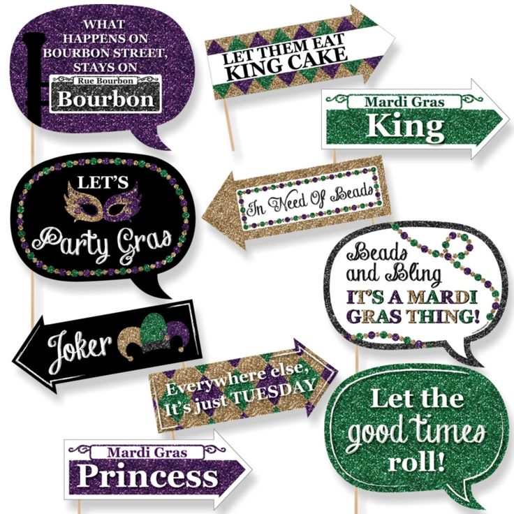 Funny Mardi Gras - Photo Booth Props - Mardi Gras Party Photo Booth Prop Kit - 10- pc by BigDotOfHappiness on Etsy https://www.etsy.com/listing/499499711/funny-mardi-gras-photo-booth-props-mardi