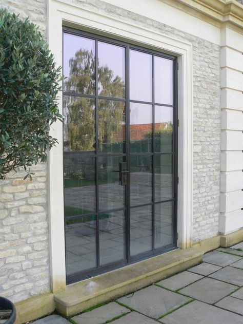 Our Mondrian External Doors Offer Slim Steel Frames In An Industrial Design  With High Levels Of