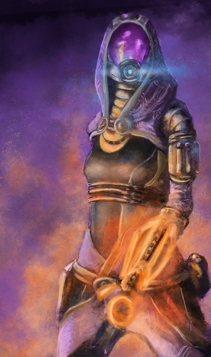 Mass Effect - Tali'Zorah by jocker909.deviantart.com #MassEffect