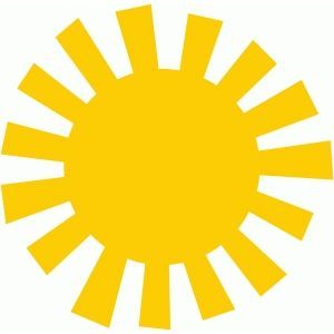Silhouette Design Store - Search Designs : sun