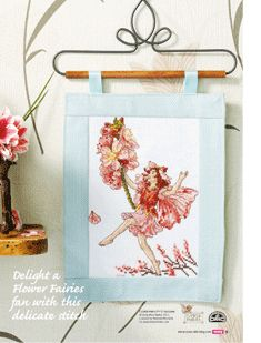 Flower Fairies The Almond Blossom Fairy Cross Stitch Crazy  Issue 166 August 2012 Saved