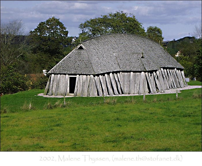 how to make a viking longhouse