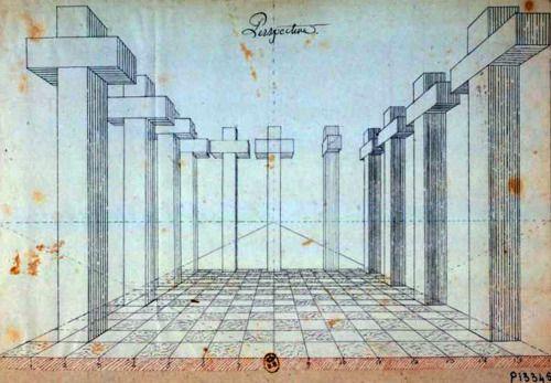 Jean-Jacques Lequeu,Perspective,1773.