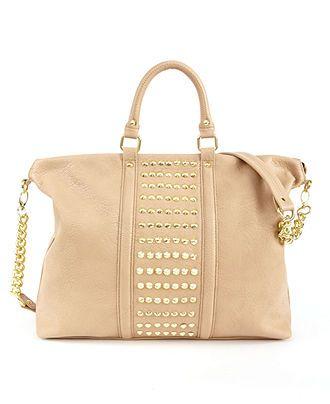 Steve Madden Handbag, Brockit Studded Satchel - Handbags & Accessories - Macy's