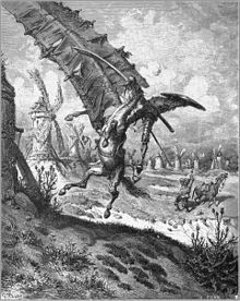 Tilting at windmills - Gustave Doré - Wikipedia, the free encyclopedia