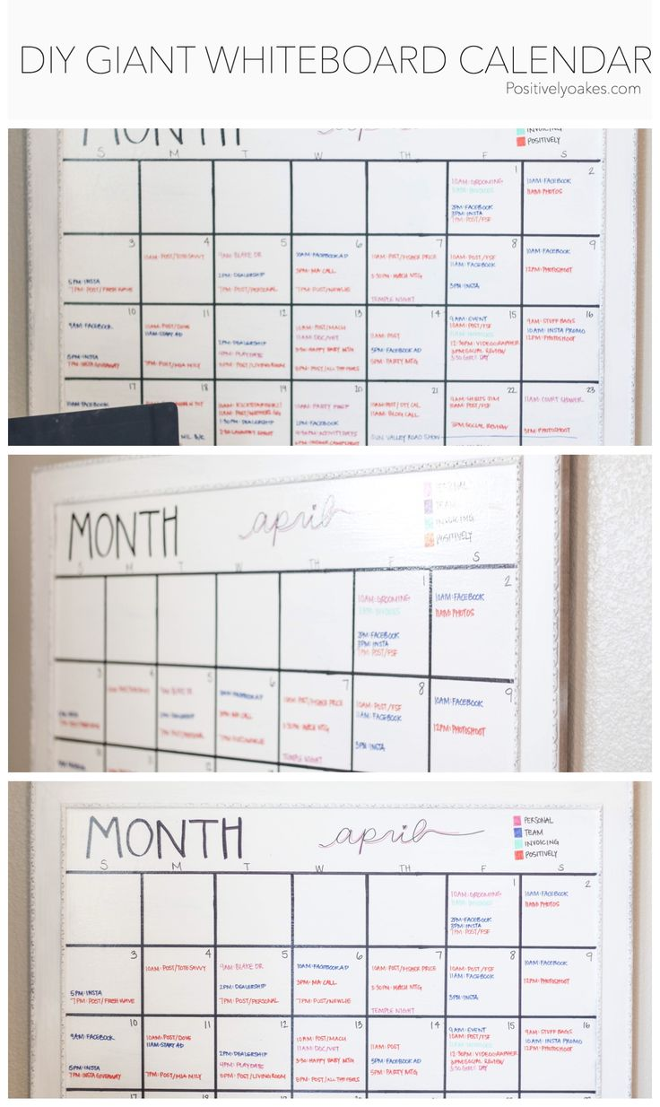 Whiteboard Calendar Diy : Best diy whiteboard ideas on pinterest stainless