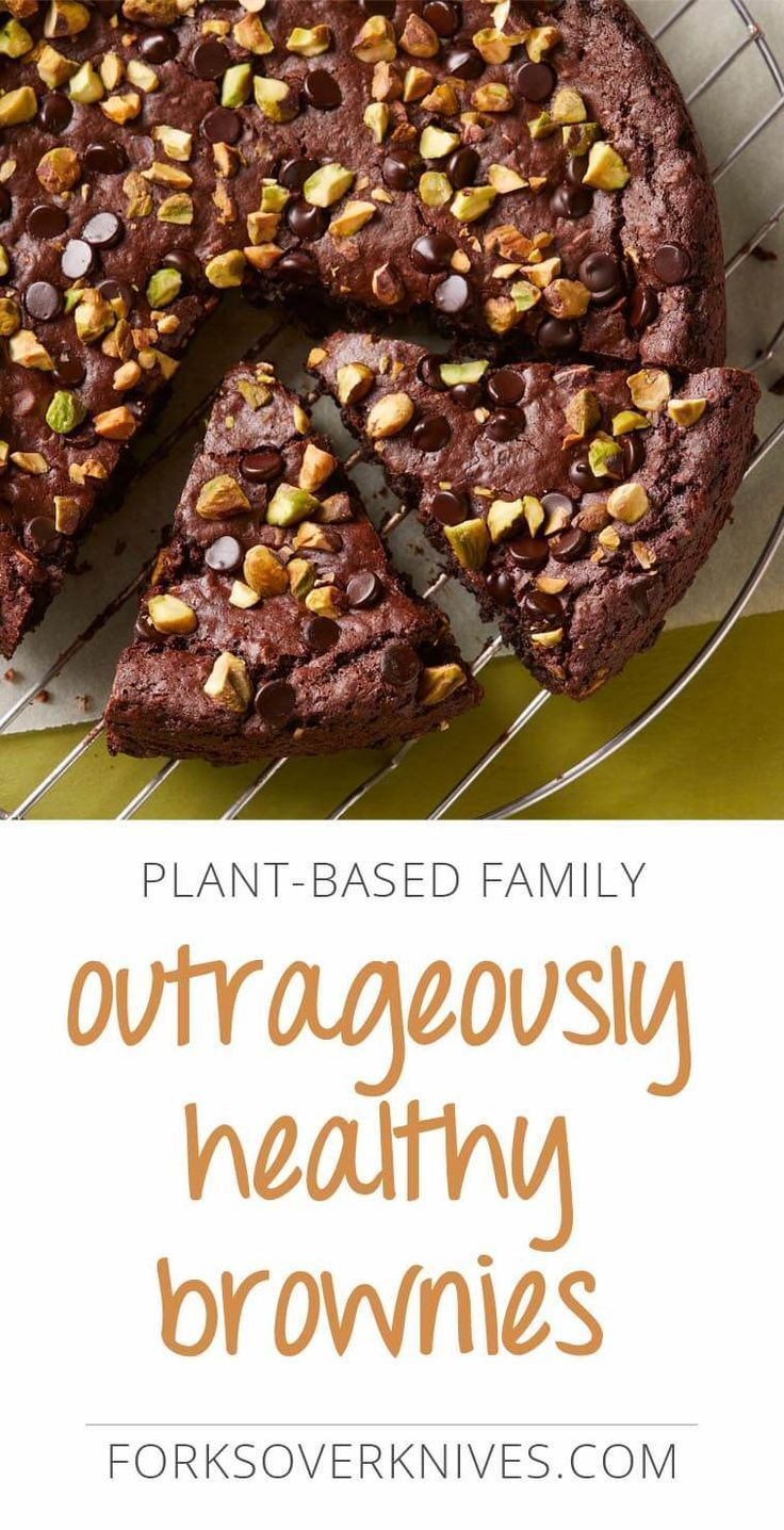Healthy Vegan Brownies Forks Over Knives Recipe In 2020 Healthy Brownies Food Vegan Brownies Recipe