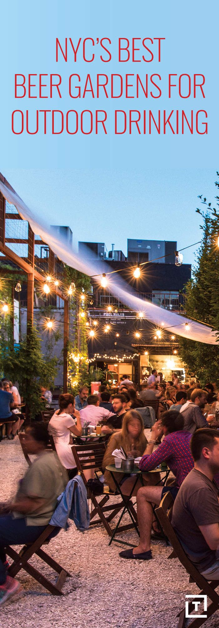 NYC's Best Beer Gardens for Outdoor Drinking