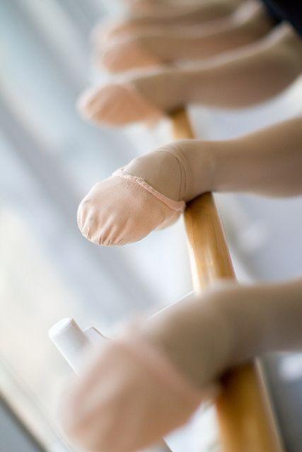 Ballet Shoes at the Barre - Joffrey Ballet, by Gina Uhlmann