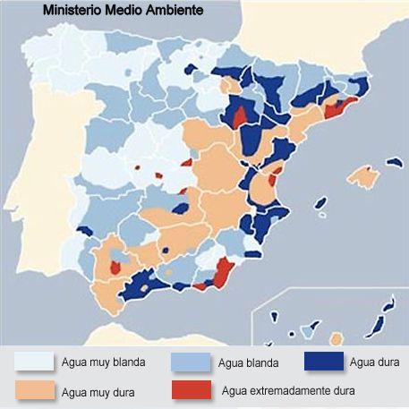 TIPOS DE SUELO de España. Fuente: http://www.kalipedia.com/ecologia/tema/biocenosis/graficos-rocas-espana.html?x1=20070418klpcnaecl_1...