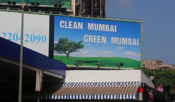 Green Mumbai billboard