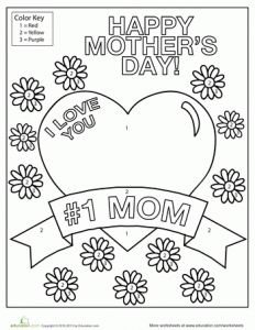 mother's day coloring page (3)