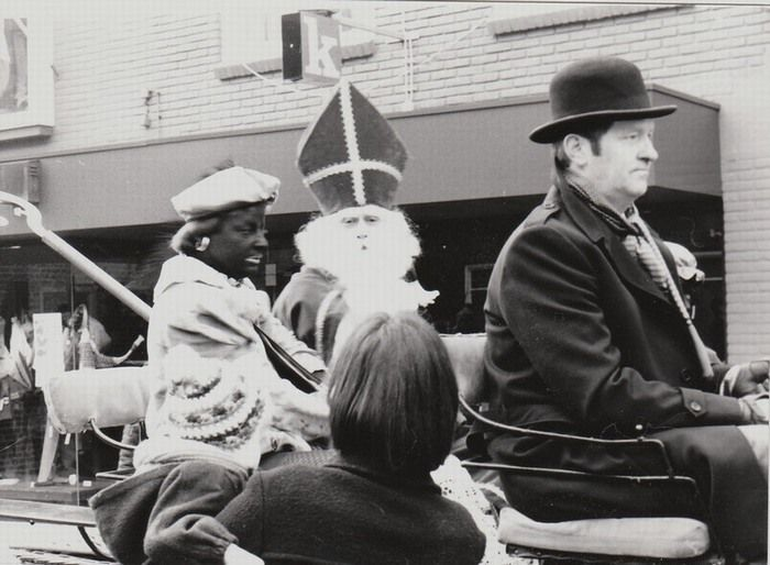 Sinterklaas en zwarte Piet, Deurne 1982