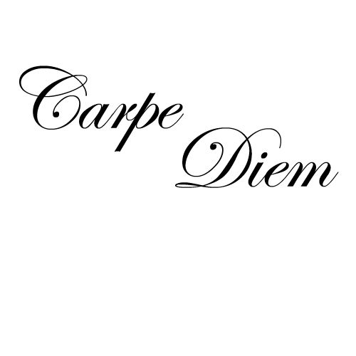 Wallstickers - Veggord - Carpe Diem 1