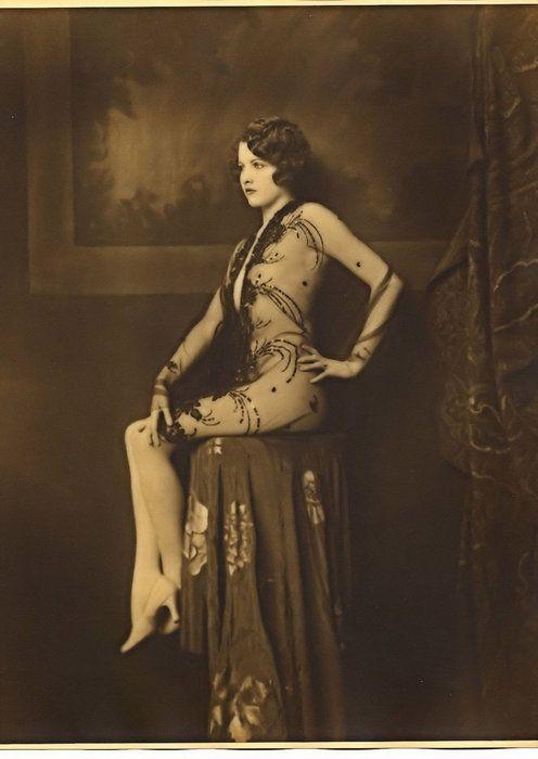 Les filles des Ziegfeld Follies dans les années 1920