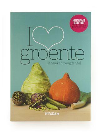 I love groente (He)eerlijk kookboek.